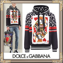 VIP価格★DOLCE & GABBANA★King of Hearts プリントパーカー