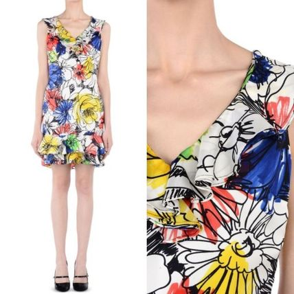 ☆ Boutique Moschino ☆花柄シルク ワンピース♪SALE