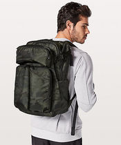 [lululemon]◆たっぷり収納Assert Backpack(camo)