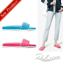 ★18SS★【VALENTINO】Free Rockstud Spike quilted サンダル
