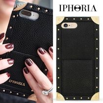 "★IPHORIA★""Trunk Case Black"" iPhone 7/8Plus ケース"