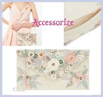 Accessorize☆Florence☆3Dフラワー!エンペロープ クラッチ