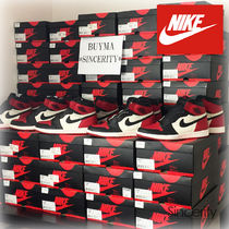NIKE 555088-610 AIR JORDAN 1 RETRO HIGH OG BRED TOE / 11.5