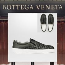 【18SS NEW】 BOTTEGA VENETA_men/STUDSスリッポンスニーカーBK