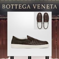 【18SS NEW】 BOTTEGA VENETA_men/STUDSスリッポンスニーカーBR