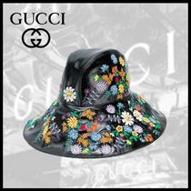 GUCCI フローラルハット