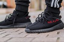 ADIDAS★アディダス Yeezy Boost 350 V2 Black Red