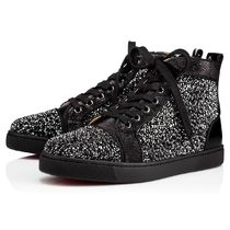 SS18 Louboutin ルブタン Louis Woman Strass Version Black