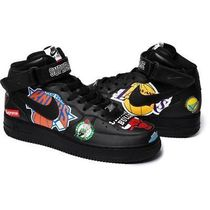 SS18 SUPREME NIKE NBA TEAMS AIR FORCE 1 MID BLACK 送料込