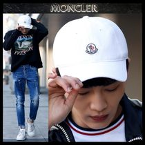 【MONCLER モンクレール】18SSロゴパッチ キャップ WHITE/追跡付