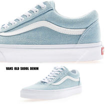 VANS★OLD SKOOL DENIM BABY BLUE★デニム★兼用★22~29cm