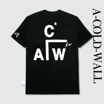A-COLD-WALL(アコールドウォール) Tシャツ・カットソー 【関税送料込】A-COLD-WALL♪フラッグメントデザインTシャツ♪