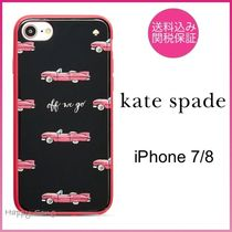 kate spade◆iPhone 7/8◆可愛いビンテージカー◆hot rod