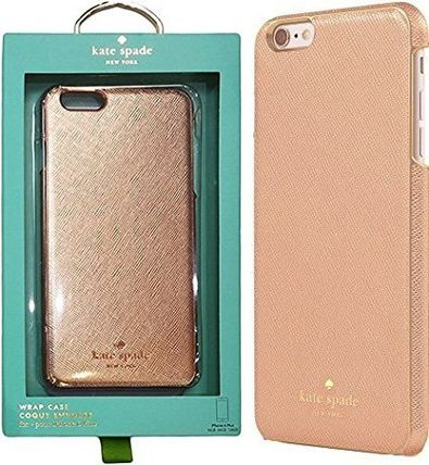 ☆Kate Spade iPhone 6 Plus対応 Case・サフィアノ・RSGD☆