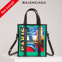 VIPセール♪国内発♡BALENCIAGA Bazar Paris Shopper XS