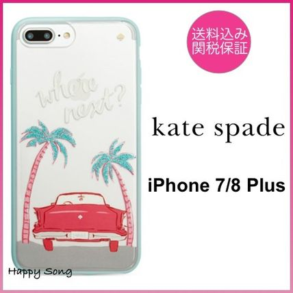 kate spade◆iPhone 7/8 Plus◆ビンテージカー◆where next?