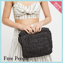 【Free People】ストロークラッチ★ Dreamland Straw Clutch