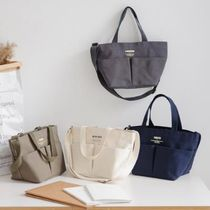【Funnymade】 TWO POCKET CANVAS BAG - M