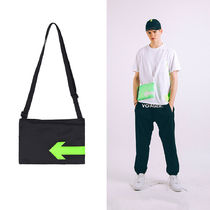 STEREO VINYLS 2018 S/S ISA Arrow Sacoche #Shoulder Bag