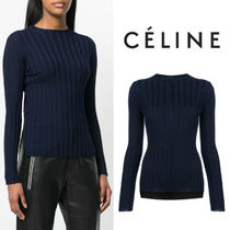 【18SS】大注目!!★CELINE★ribbed jumper