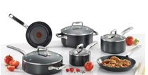 残少SALE☆T-fal☆ProGrade 10-Piece Non-Stick Cookware Set