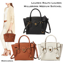 【セール!】Ralph Lauren* Millbrook Medium Satchel