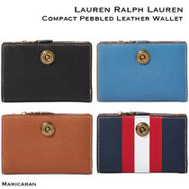 【セール!】Ralph Lauren * Compact Leather Wallet