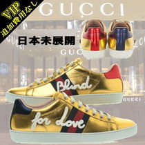 """◆◆VIP◆◆GUCCI  """"Blind for Love""""刺繍 Ace スニーカー/未展開"""