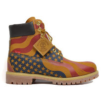 【Supreme】Stars and Stripes 6-Inch Premium Waterproof Boot