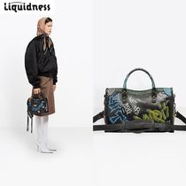 【Balenciaga】Graffiti Classic City S