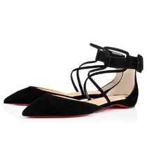 SS18 Louboutin ルブタン Suzanna Veau velours Black
