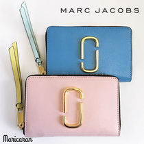 MARC JACOBS * Small Snapshot Zip-Around Wallet