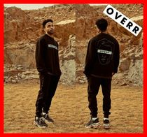 18SS★人気【OVERR】★ 18SS SENANCOUR BLACK SWEATSHIRTS ★