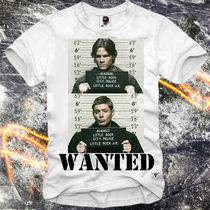 Tシャツ・カットソー 人気爆発!!☆E1SYNDICATE☆ WANTED SUPERNATURAL 関税込