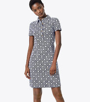 Tory Burch LENNOX POLO DRESS