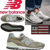 NB M996GY D wide 'made in usa' Grey