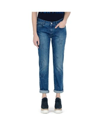 STELLA MCCARTNEY Jeans With Embroidered Stars