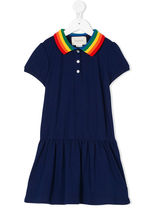 Gucci Kidspolo dress with butterfly
