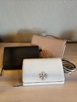 【即発3-5日着】Tory Burch◆McGRAW FLAT WALLET CROSSBODY