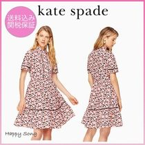 kate spade◆花柄ワンピース◆small blooms poplin dress