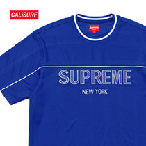 WEEK4★SS18 Supreme(シュプリーム) Dazzle Warm up Tee-S/Royal