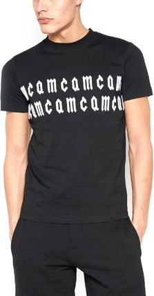 MCQ ALEXANDER MCQUEEN■新作 お洒落 embroidered ロゴ Tシャツ