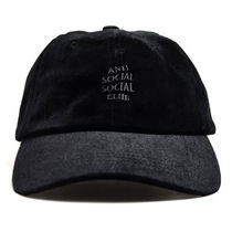 【ANTI SOCIAL SOCIAL CLUB】Smoothy Black Cap【即発送】