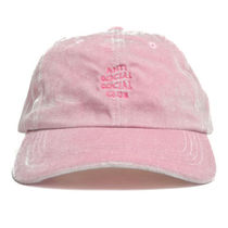 【ANTI SOCIAL SOCIAL CLUB】Smoothy Pink Cap【即発送】