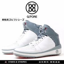 G/FORE メンズゴルフシューズ CRUSADER High Top 白/グレー人気