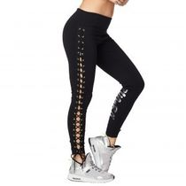 追跡可☆Zumba Laced Up Ankle Leggings