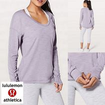 lululemon☆Meant To Move Long Sleeve ロングスリーブT dawn