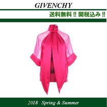 18SS,関税込★GIVENCHY(ジバンシイ)Rotweilerプリント ブラウス