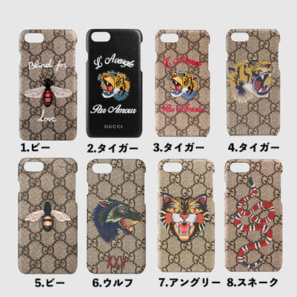 reputable site 25ed9 41471 GUCCI★GG Supreme iPhone 7ケース 8種・追跡あり