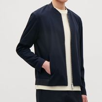 """COS(コス) ブルゾン """"COS MEN""""COTTON BOMBER WITH CUTLINES NAVY"""